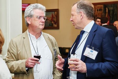 Ben Derbyshire, Managing Partner, HTA Architects; Chris Tinker, Regeneration Chairman, Crest Nicholson;